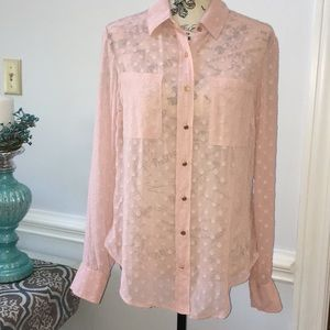 Rose colored A New Day Blouse Small
